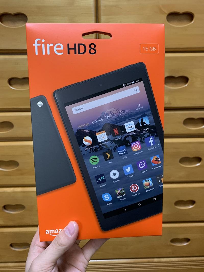 fire-hd8の正面